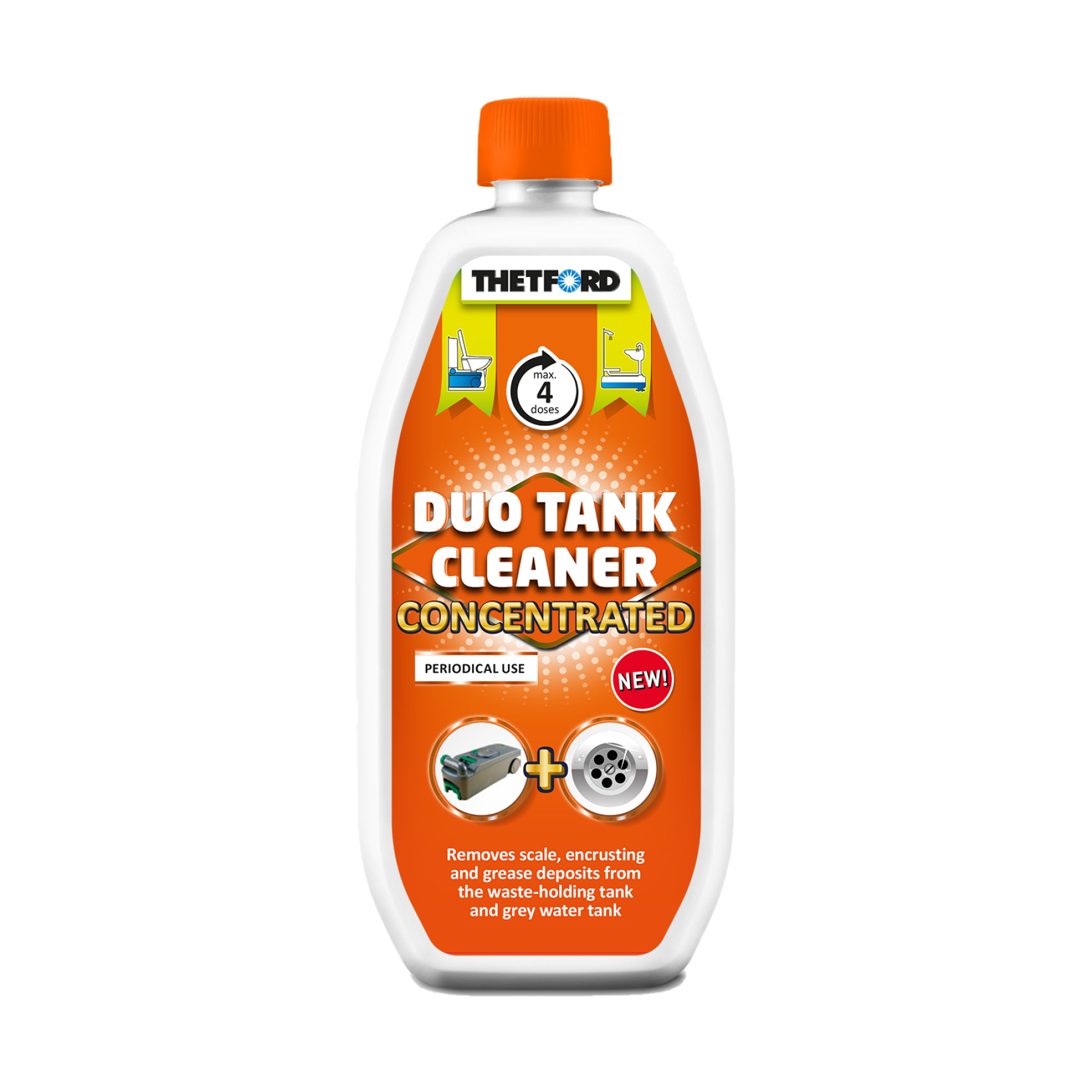DUO TANK CLEANER CONCENTRATED – 800ml