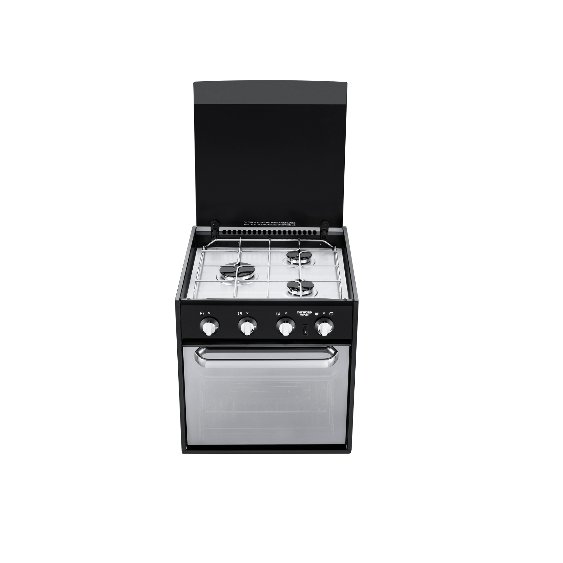 TRIPLEX MK3 COMPACT COMBINATION COOKER- GAS ONLY W/ RAPID BURNER